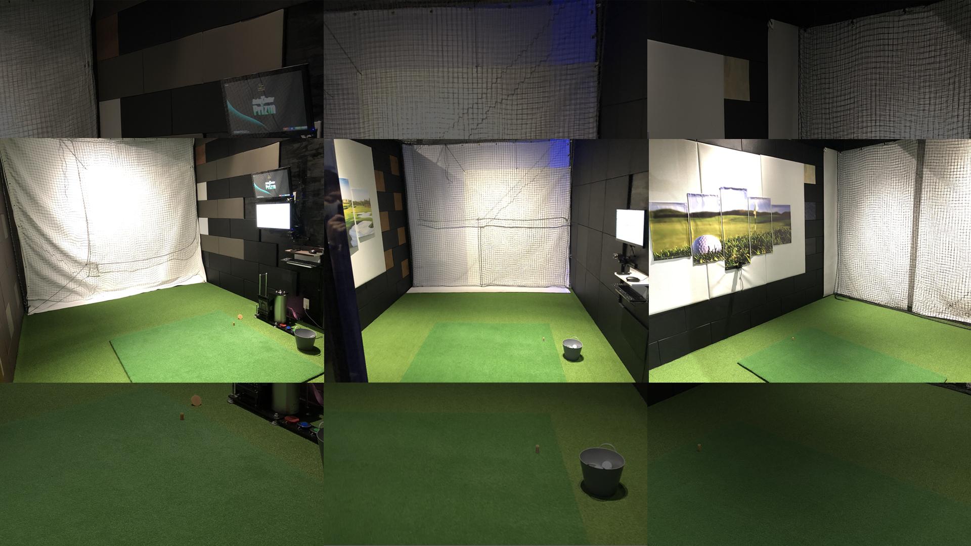 新宿の無人ゴルフ練習場